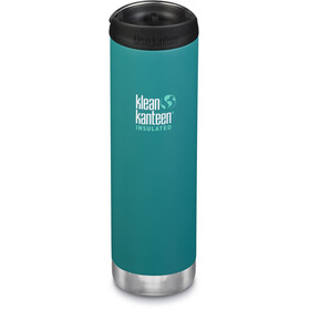 Klean Kanteen TKWide Bottle with Cafe Cap 592ml Vacuum Insulated emerald bay matte